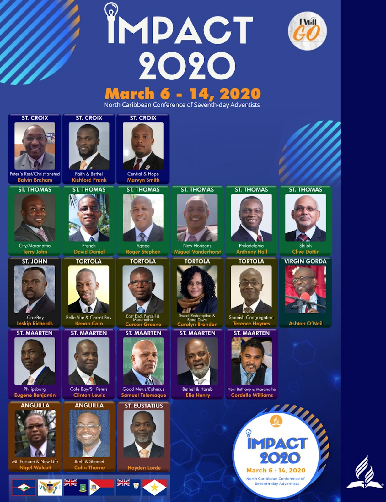 IAD President Heads a Cadre of 23 Evangelists to NCC Impact 2020