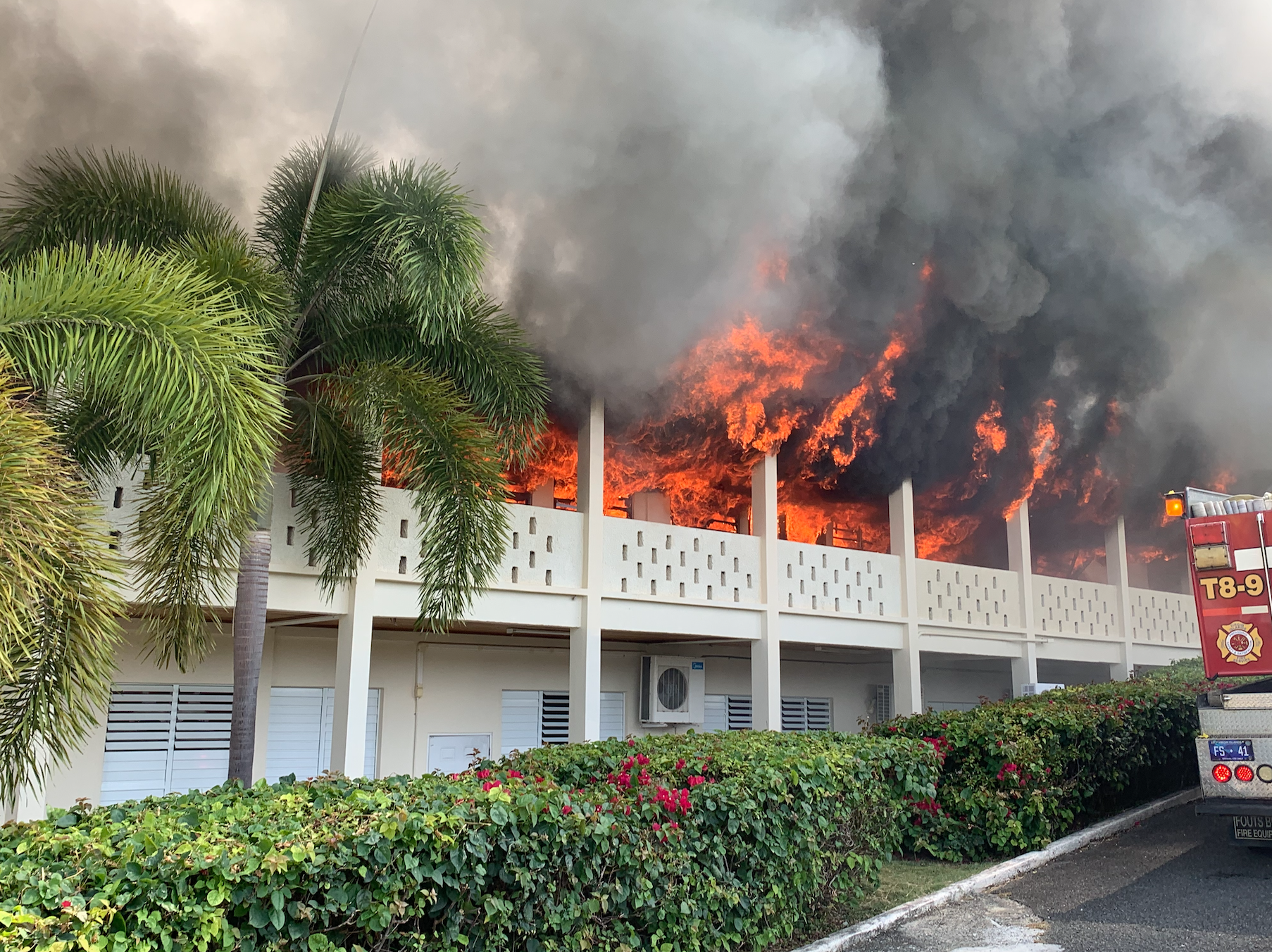 Multiple-alarm Fire Consumes SDA Church on St. Croix