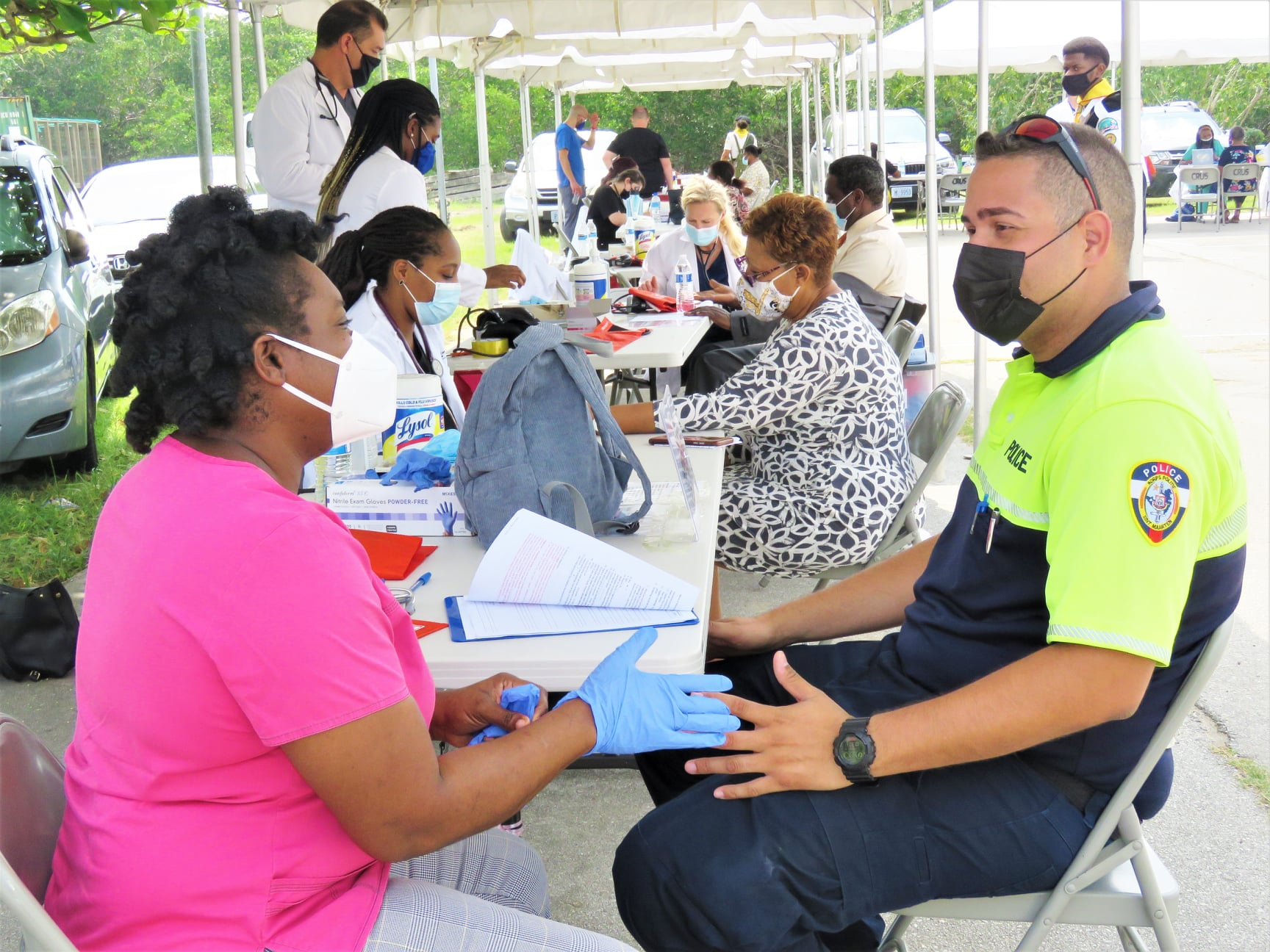 SDA Church and AUC Unite for a Healthier Sint Maarten