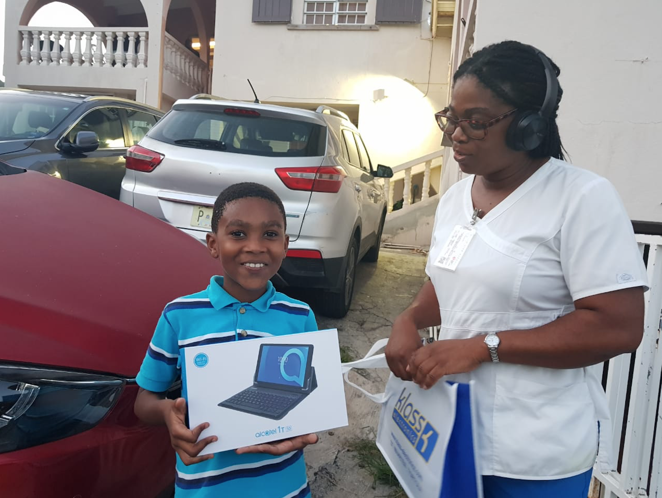 Philipsburg SDA Church Secures Devices to Support Students' Online Learning