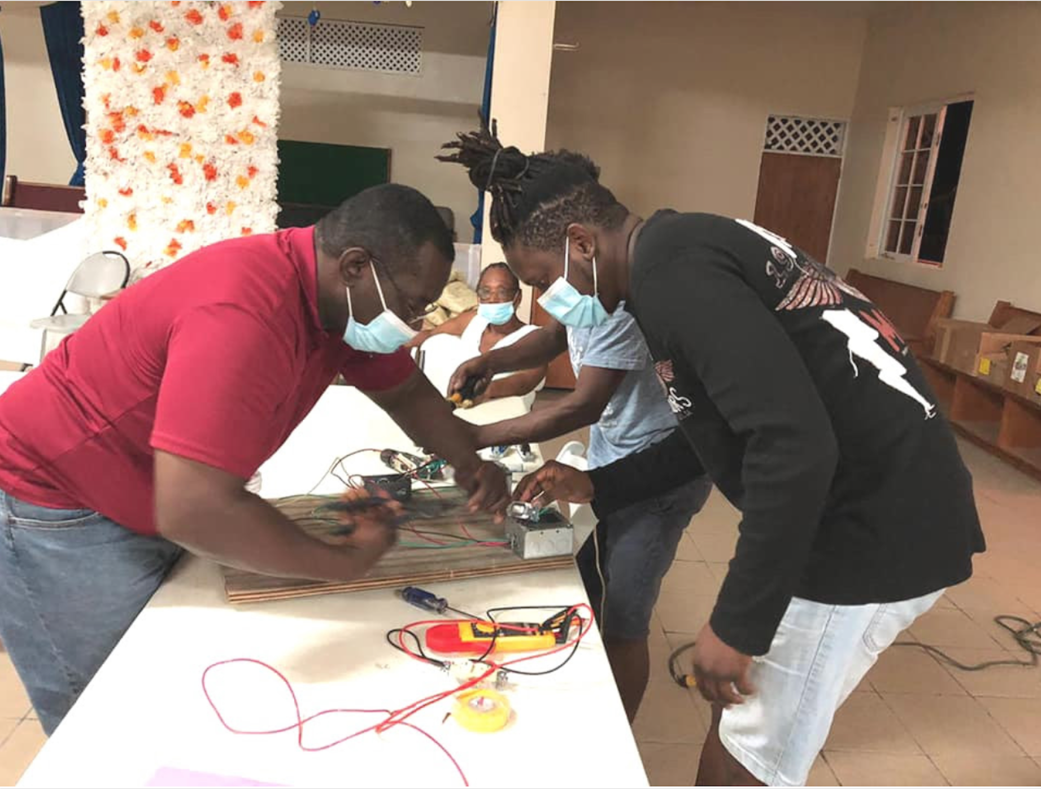 Adventist Church on Tortola Offers Free Electrical Maintenance Classes