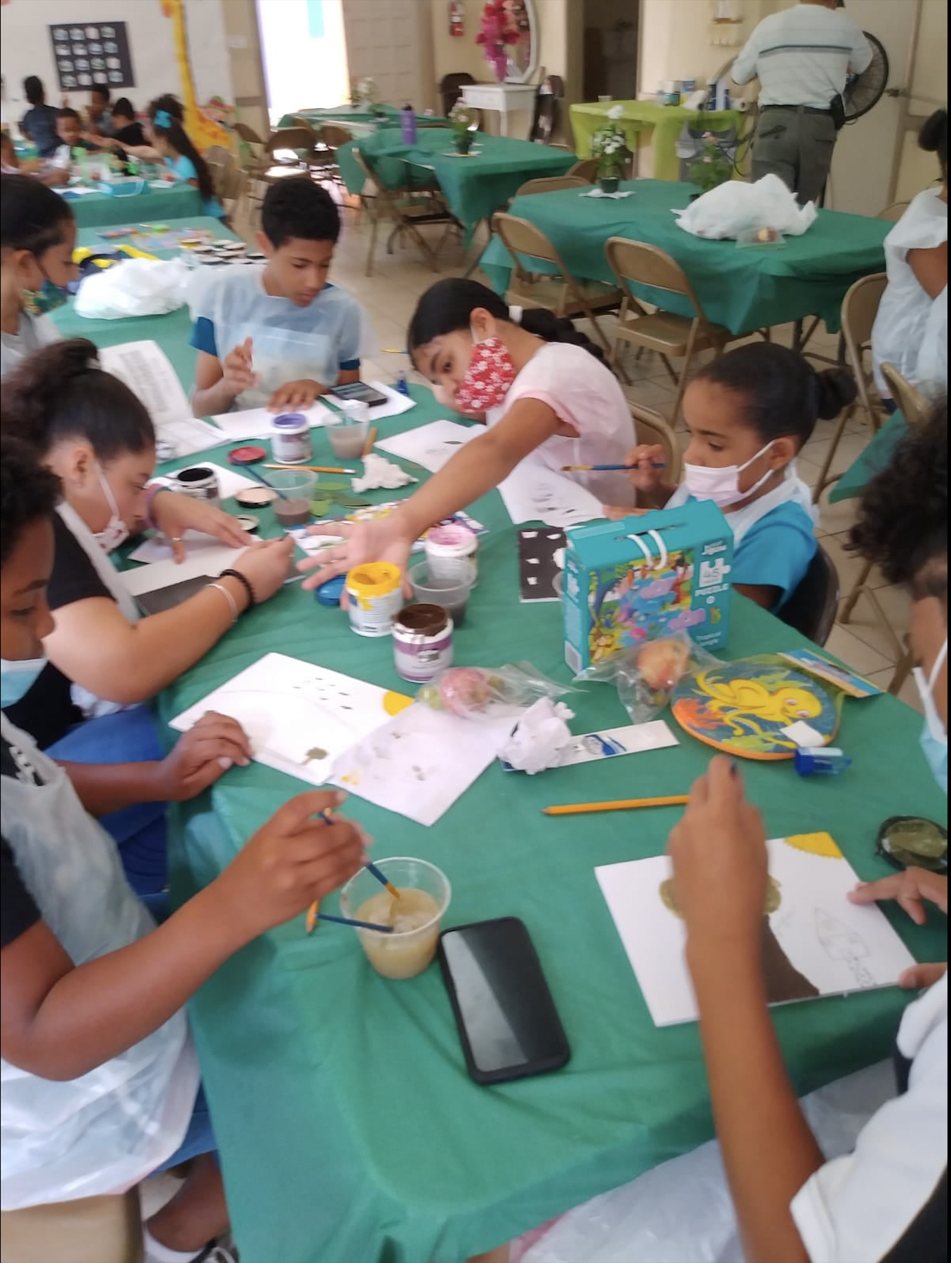Operation Eagle Eye and Holiday Bible School Reach 22 Children