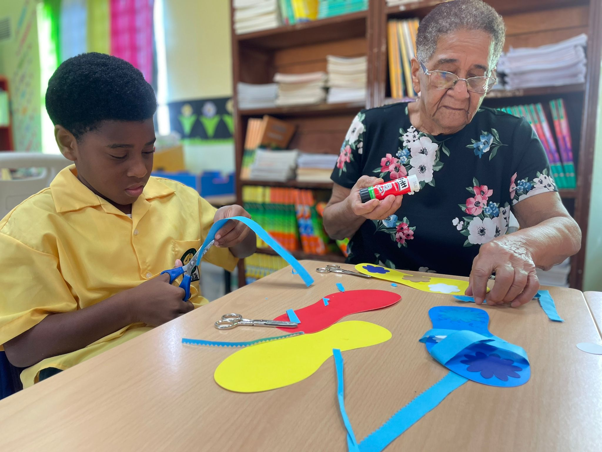 Grandparents Are Making a Difference